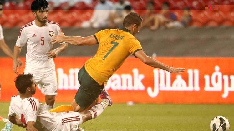 الأبيض الإماراتي يتعادل وديا مع المنتخب الأسترالي