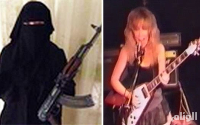 مغنية بريطانية تنضم لـداعش