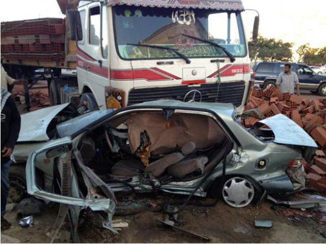 حادث مروري يودي بحياة مواطنة ويصيب 3 من أشقائها