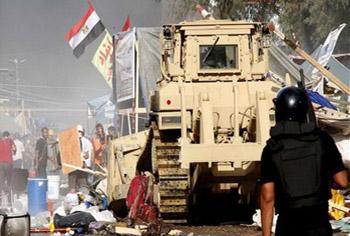 نشطاء مصريون يبدؤون حملة عالمية للتعريف بـ قصة رابعة