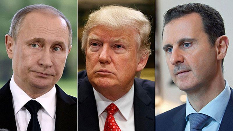 ترامب يخيّر روسيا: رحيل الأسد طواعية أو على طريقة القذافي