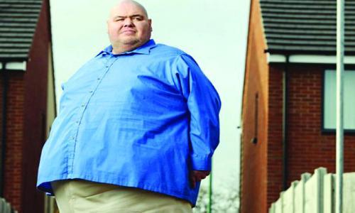 وفاة صاحب الوزن الأكبر  في بريطانيا