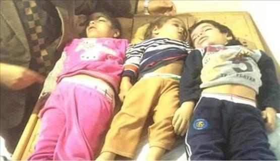 3 أطفال وامرأتان حصيلة قصف طائرات مصرية لليبيا