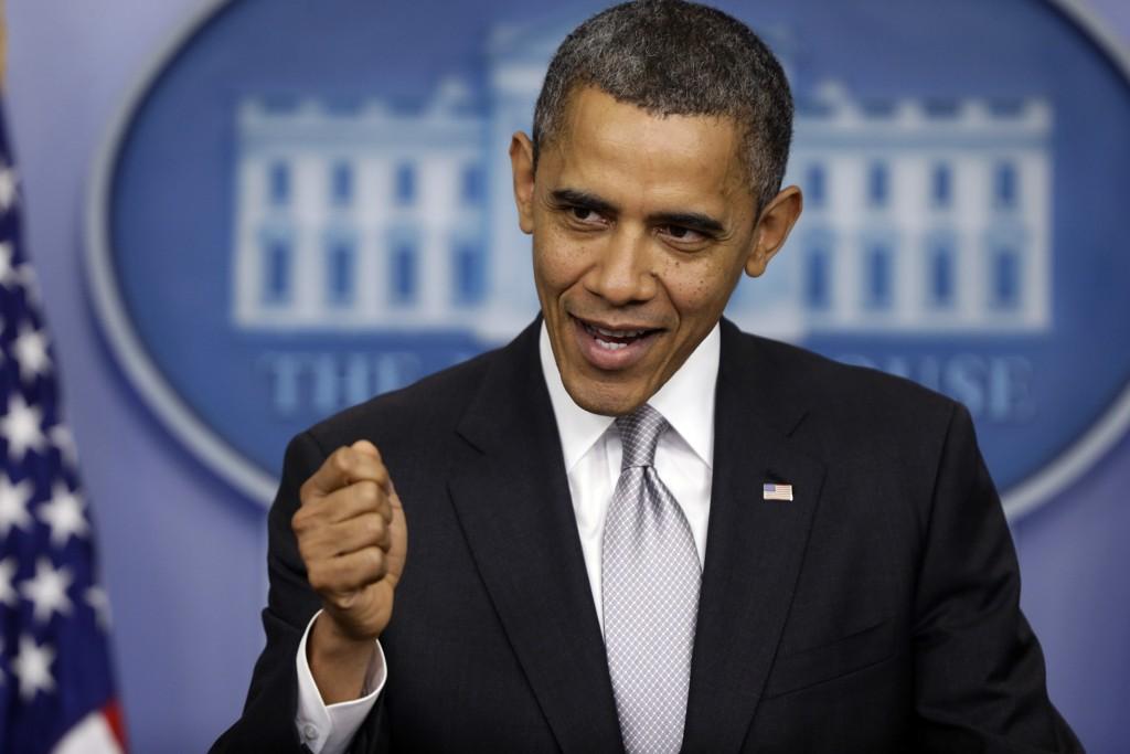 أوباما يرى أن تنظيم الدولة في تراجع و وضع دفاعي