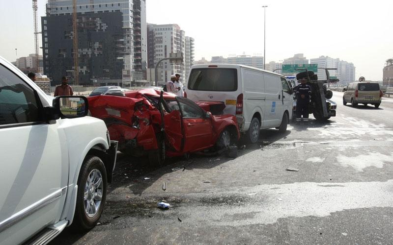عقوبات جنائية بحق السائقين المتهورين في دبي