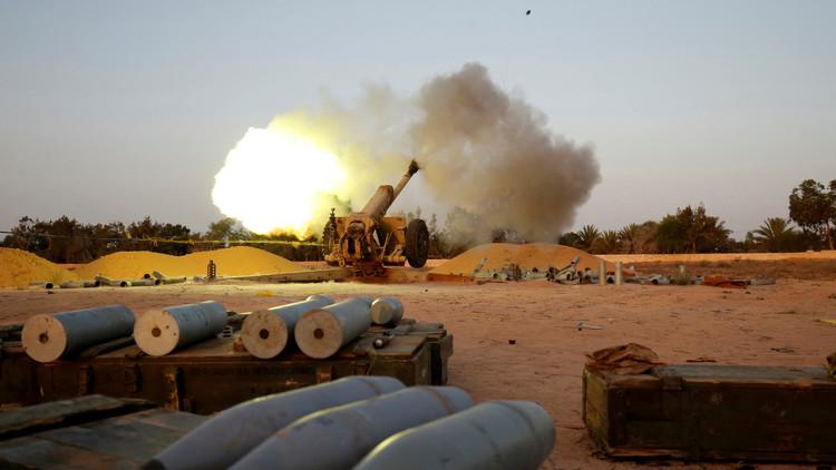 قوات حكومة الوفاق الليبية تسيطر على مقر داعش الرئيس بسرت