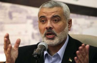 هنية: لا نعارض هدنة طويلة مع إسرائيل شريطة ألا تكون على حساب الضفة