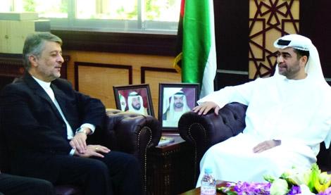 النيابة العامة في أبوظبي تبحث تعزيز التعاون مع نظيرتها الإيرانية