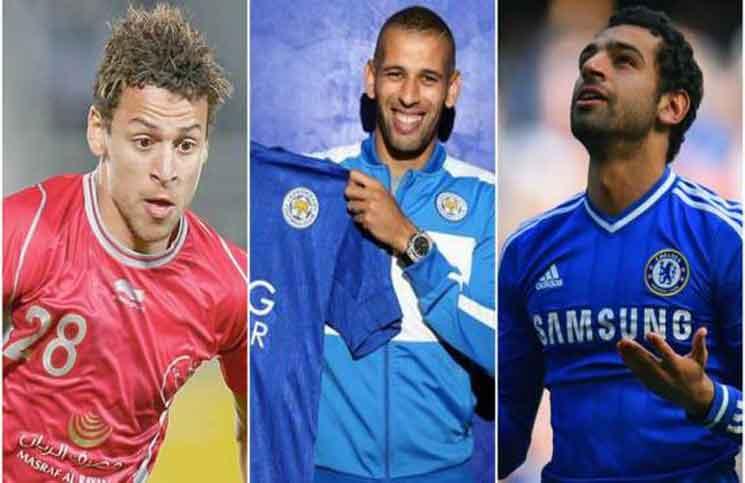 أغلى 10 لاعبين عرب في العالم