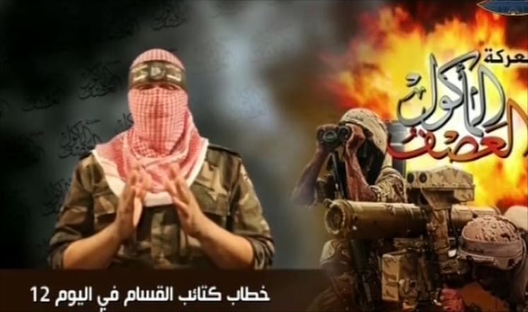 القسام تعلن مواصلتها القصف حتى تكف اسرائيل عدوانها