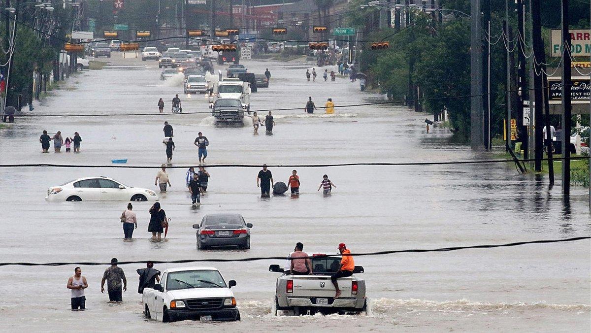 24 مليار دولار خسائر متوقعة من إعصار هارفي في الولايات المتحدة