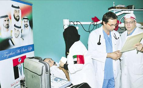 زايد العطاء تجري 600 عملية قلب مفتوح للمرضى الفقراء في مصر