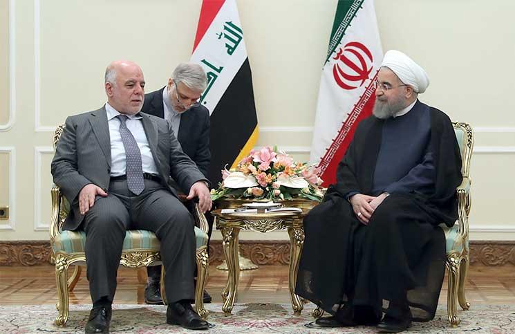 العبادي من إيران: سيكون بين بغداد وطهران تعاون واسع