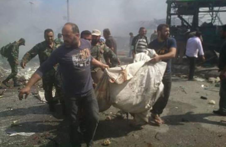 أكثر من مئة قتيل حصيلة التفجيرات بمدينتي طرطوس وجبلة الساحليتين بسوريا