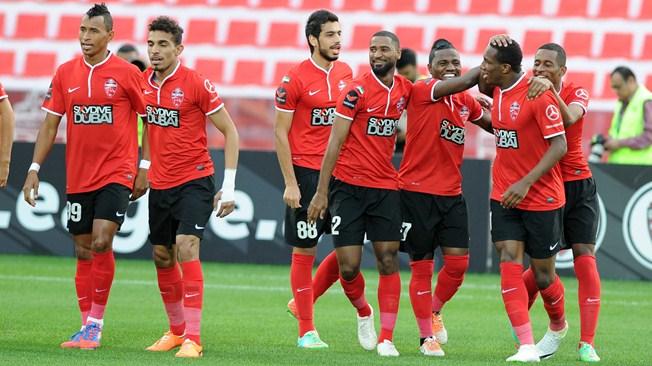 أهلى دبي يتفوق على الإمارات بثنائية السنغالي موسى سو