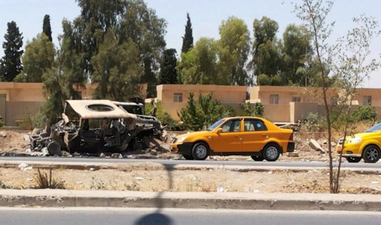 العراق معارك على أكثر من جبهة والطيران يقصف الموصل