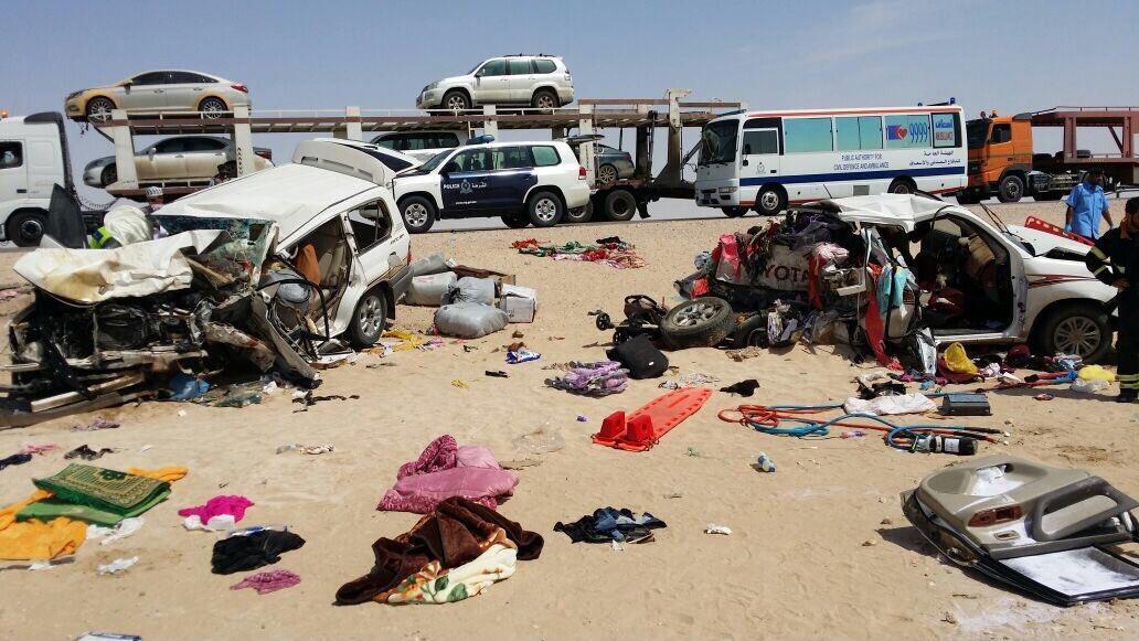 مقتل 8 أشخاص إثر حادث مرور في عُمان