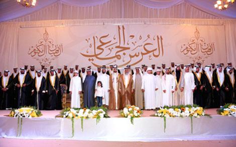 المنطقة الغربية تحتفي بالعرس الجماعي لـ 34 عريساً
