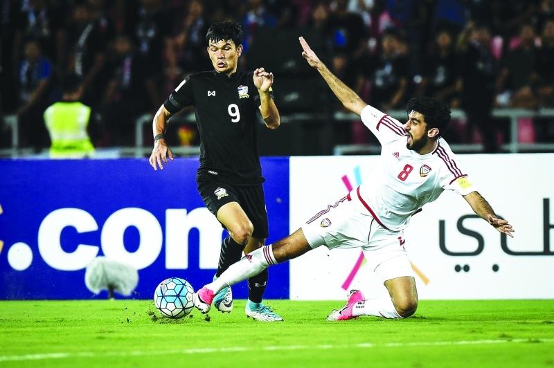 الأبيض يتعثر أمام تايلاند وأمل التأهل إلى المونديال يتلاشى