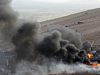 طالبان تحرق عشرات ناقلات الوقود الممتلئة في كابول