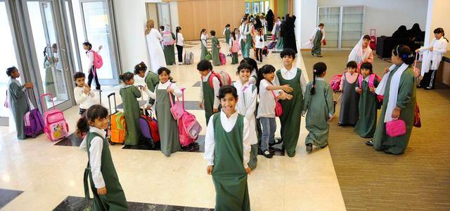 245 مدرسة حكومية مراقبة بالكاميرات في أبوظبي