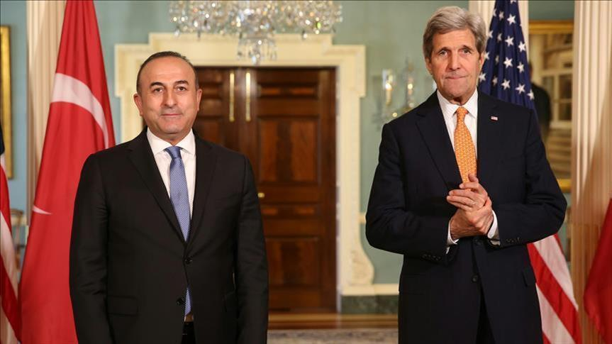 توتر بين واشنطن وأنقرة.. أوغلو وكيري يبحثان تسليم غولن لتركيا