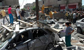 مقتل 39 شخصا بينهم 30 طفلا في تفجيري حمص