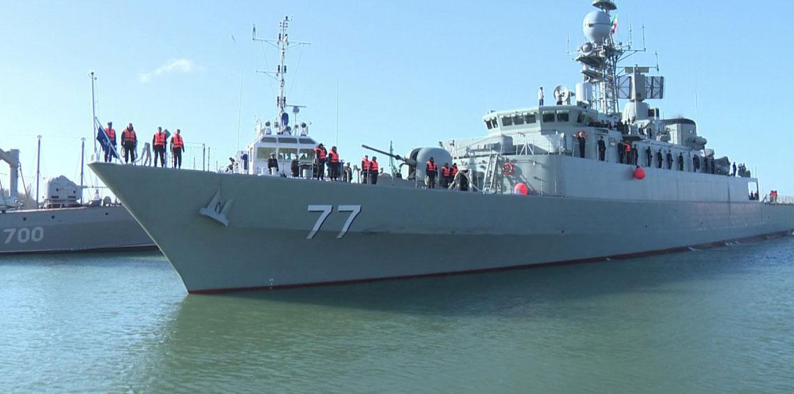 تدريبات بين القوات البحرية الإيرانية والصينية في بحر عمان