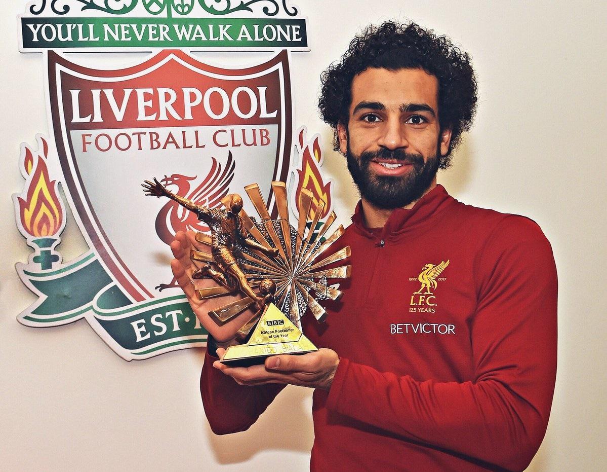 محمد صلاح يفوز بجائزة
