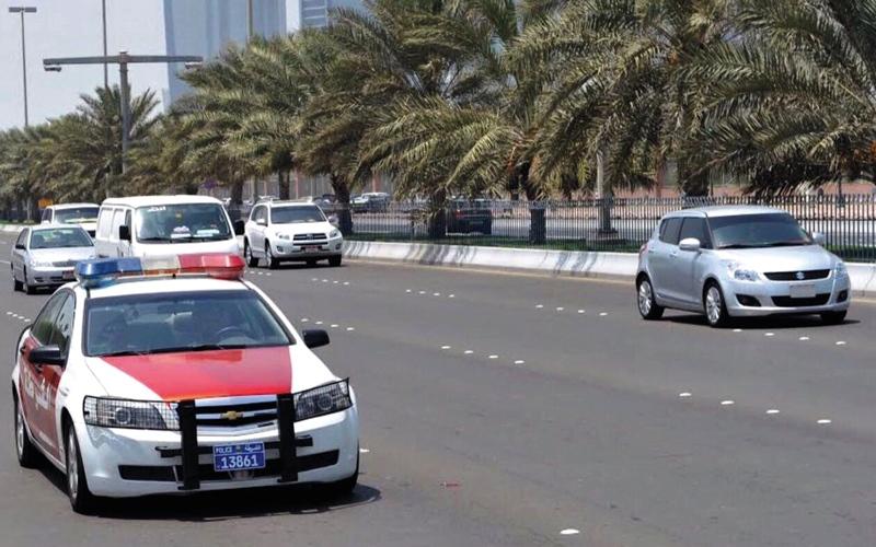 4.6 ملايين مخالفة مرورية خلال العام الماضي في أبوظبي