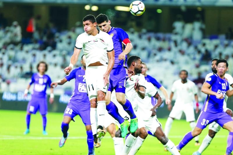 الدوري الإماراتي يتربّع على عرش آسيا للمرة الثالثة في 2017