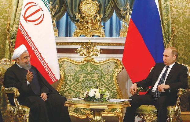 ترعيان إرهاب الأسد.. روسيا وإيران تتعهدان بـتصفية الإرهاب في المنطقة