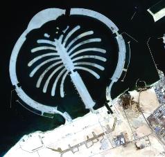 دبي سات1 يقدم صورا لمختلف مناطق الإمارات مجانا