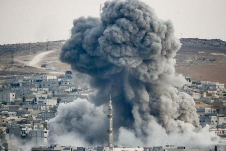 مسؤولون أمريكيون يبدون تخوفاتهم من سقوط كوباني في يد دعش