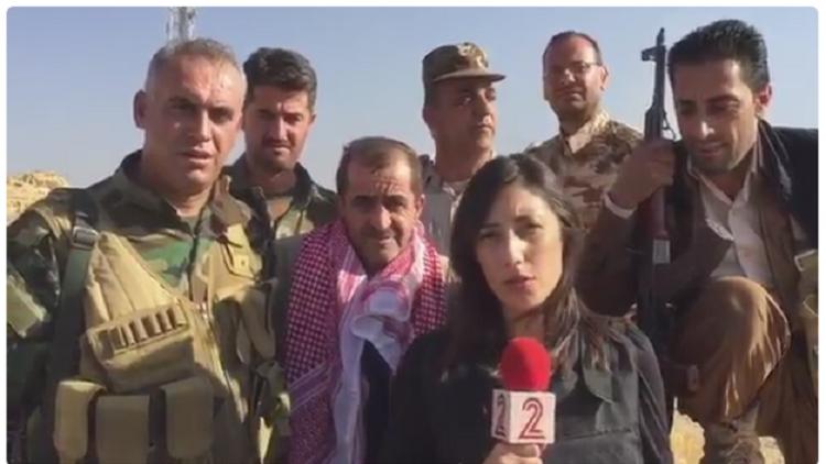 إعلام إسرائيل في موقع معركة الموصل!