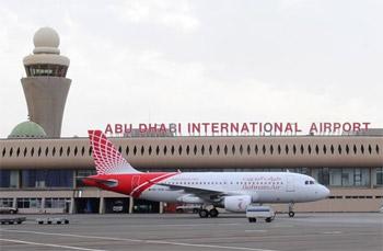 مليونا مسافر من مطار أبوظبي خلال أغسطس الماضي