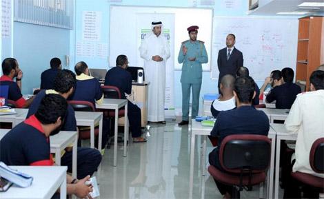 إصلاحية أبوظبي تجدد تعاقدها مع كليات التقنية لتدريس 1302 من نزلائها