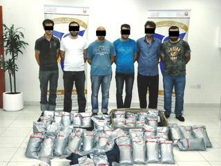 ارتفاع قضايا المخدرات خلال النصف الأول في دبي
