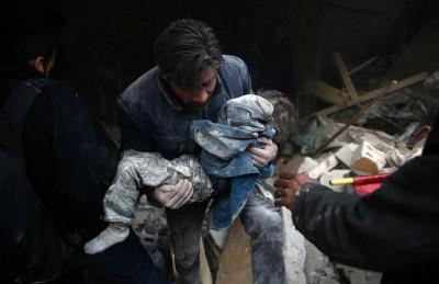 روسيا تواصل مجازرها في سوريا وتقتل 8 أطفال باستهداف مدرسة في حلب