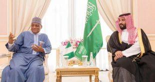 ولي العهد السعودي يبحث مع وزير دفاع نيجيريا التعاون العسكري