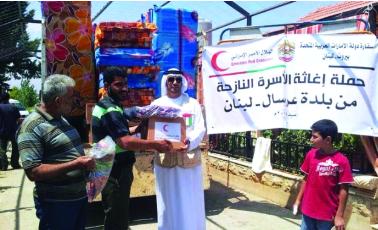 يد الإمارات الإنسانية تغيث غزة وعرسال وكردستان