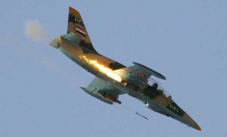 المرصد السوري: مقتل طيارين اثنين اثر إسقاط طائرتهما فوق حلب