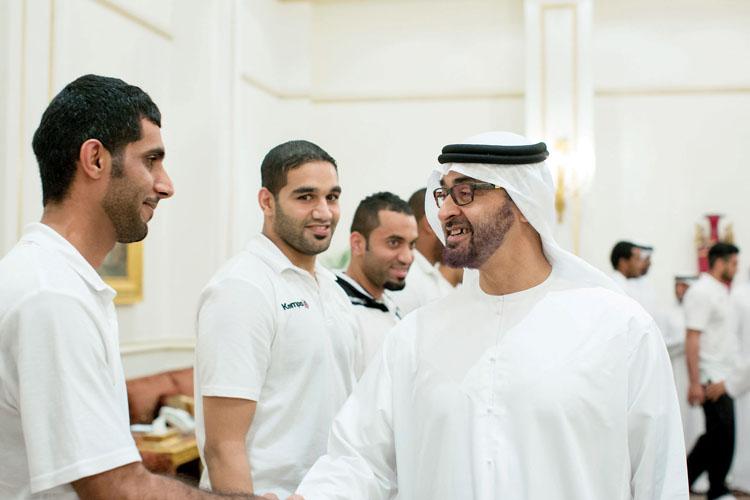 محمد بن زايد يوعز بإعادة تشكيل مجلس إدارة أبوظبي الرياضي