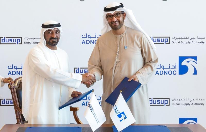 «أدنوك» الوطنية تبيع الغاز لهئية دبي للتجهيزات لمدة 15 عاماً