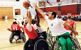 فوز منتخب الإمارات على السعودية في بطولة السلة للمعاقين