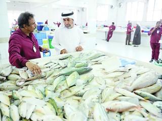 تراجع أسعار السمك في سوق رأس الخيمة 200%