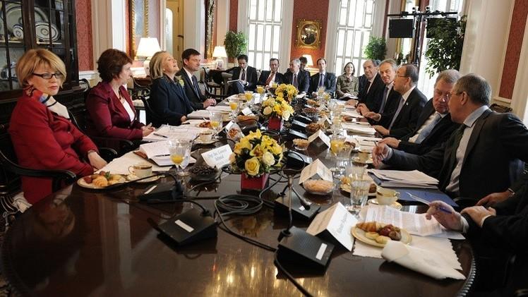 الرباعية الدولية تتفق على عقد اجتماع لاستئناف عملية السلام