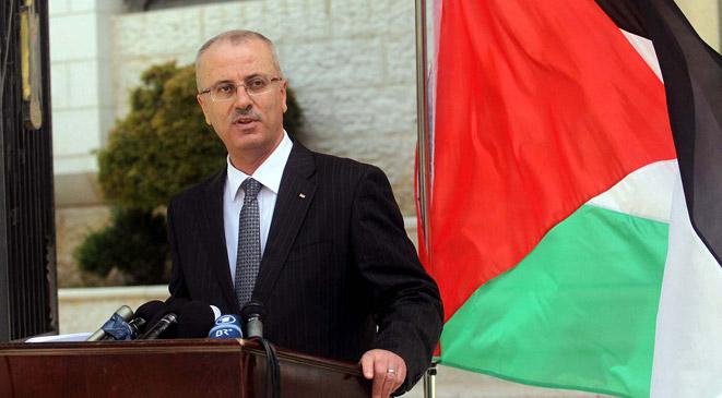 رئيس الحكومة الفلسطينية ينفي أنباء استقالته