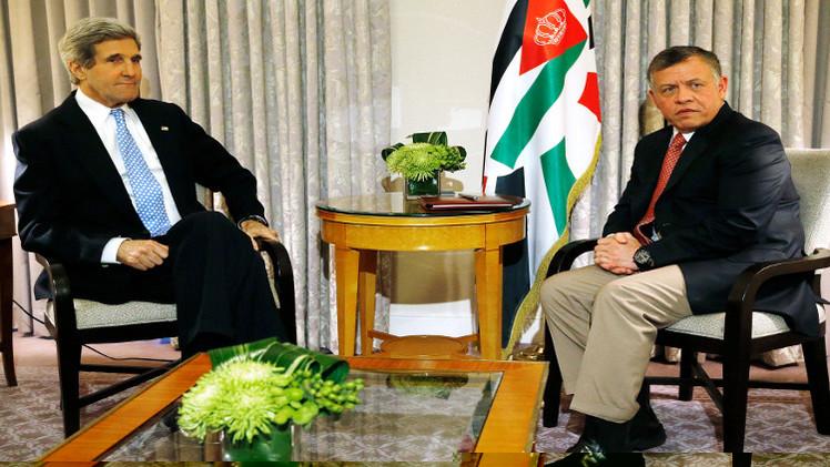 كيري يزور الأردن لبحث أزمة القدس
