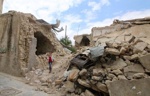 مجزرة روسية ضحاياها بالعشرات في قصف على حلب